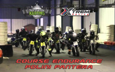 La Course d'endurance Mini-Moto Polini Pantera