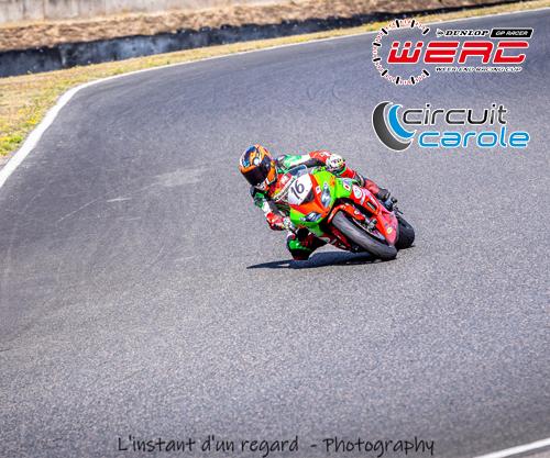CR WERC 2020 au Circuit Carole avec Thomas Fuhrer