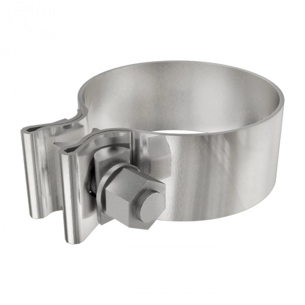 magnaflow 10166 4 stainless steel exhaust band clamp 10 pack