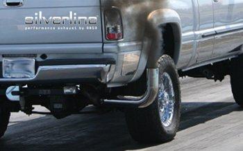 silverline turn up drag racing exhaust tip