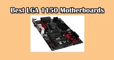 LGA 1150 motherboards