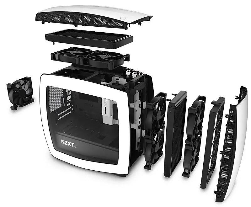 NZXT Manta Mini-ITX case 4