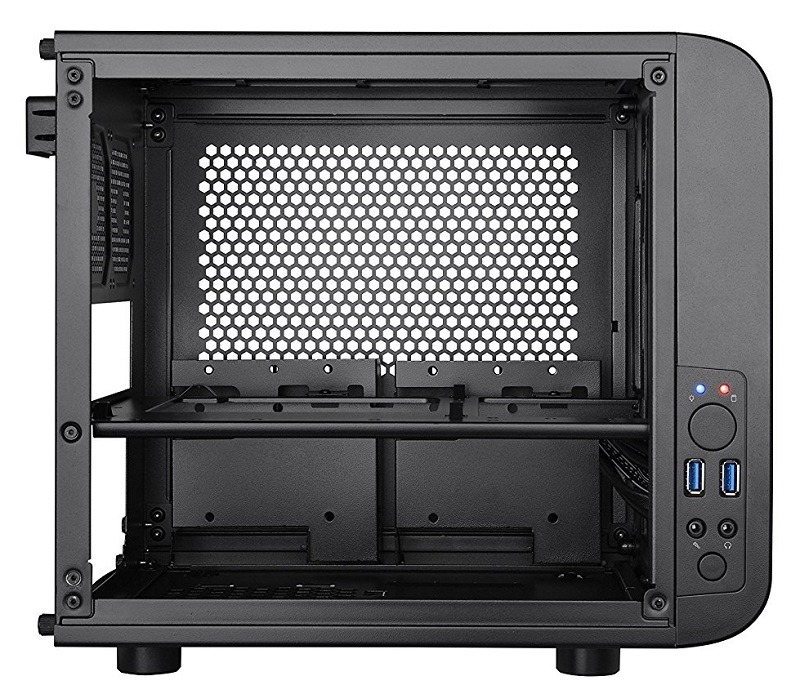 Thermaltake CORE V1 Black Edition Mini-ITX case 2