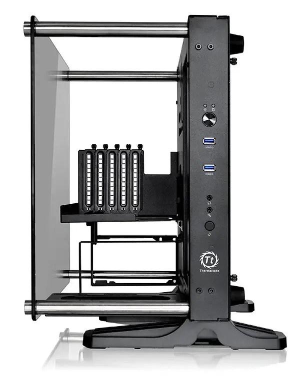 Thermaltake Core P1 Tempered Glass Mini-ITX case 3