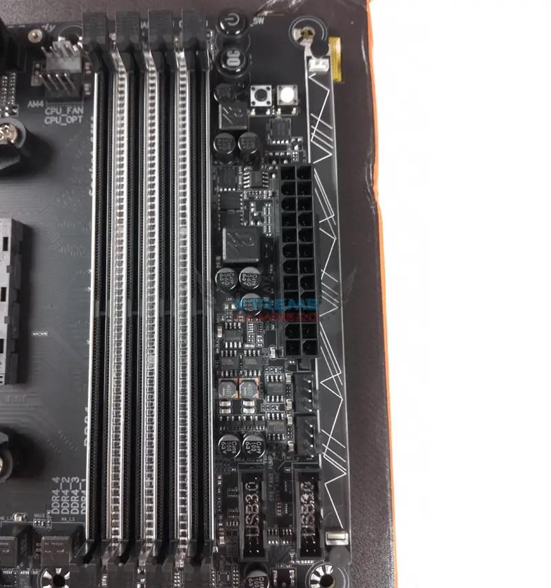 Gigabyte X370 Gaming 5 Dimm slots