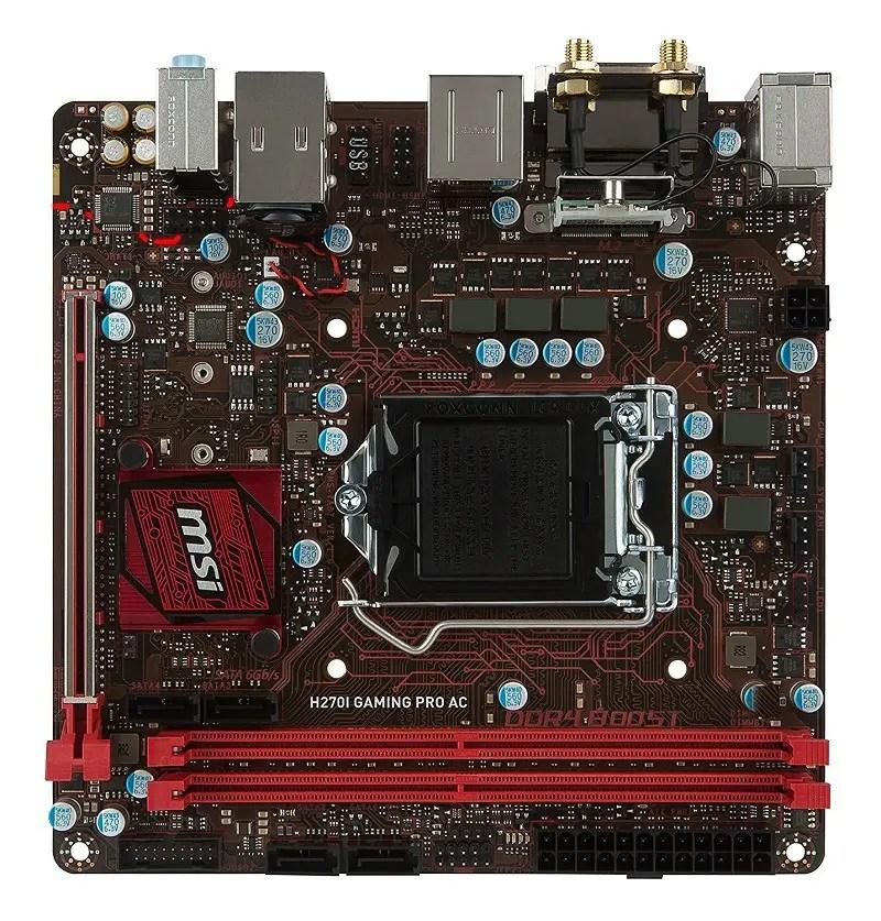 MSI Gaming Intel H270I GAMING PRO AC 2