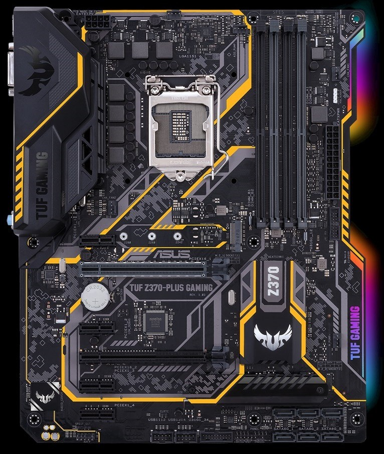 SUS TUF Z370-PLUS GAMING