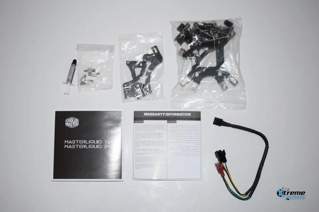 Cooler Master ML 240 Acessories