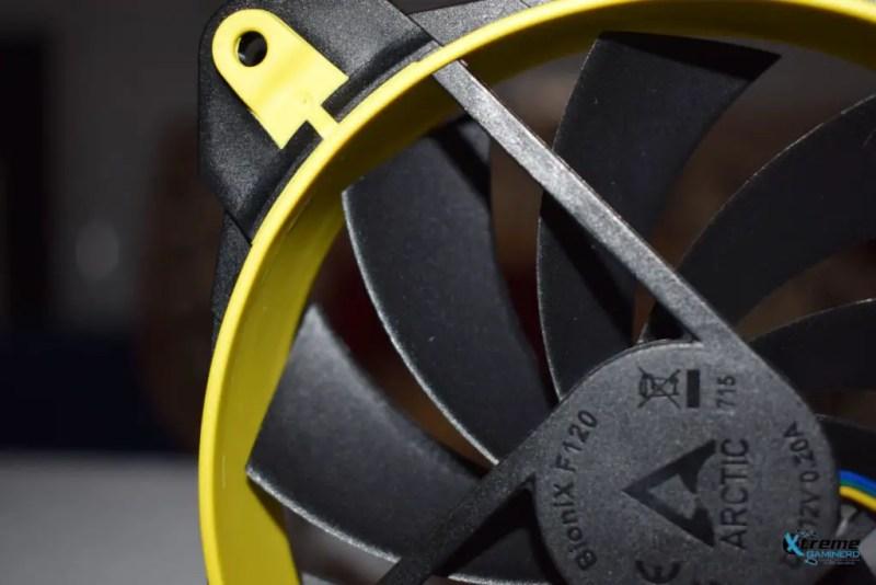 Arctic BioniX F120 gaming fan blades 2
