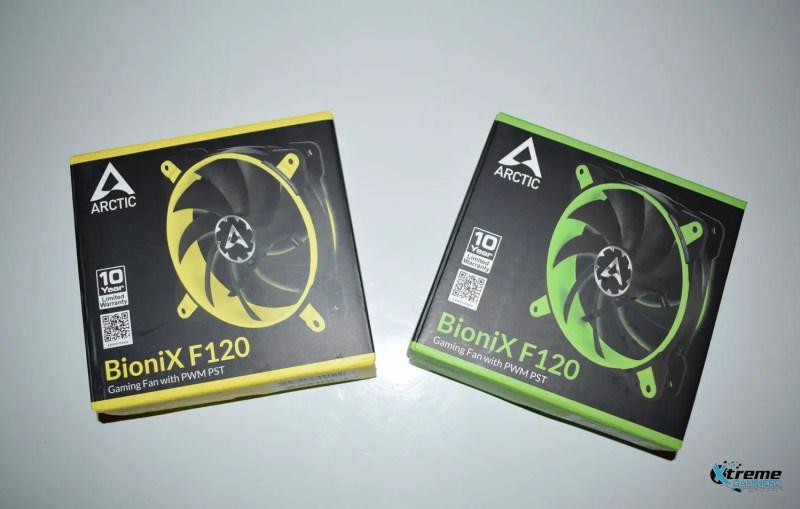 Arctic BioniX F120 gaming fan package