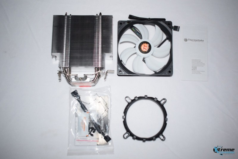 Thermaltake Contac Silent 12 all parts