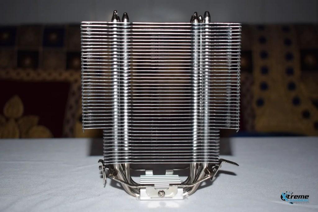 Thermaltake Contac Silent 12 heatsink front