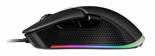TT IRIS Optical RGB gaming mouse sideview