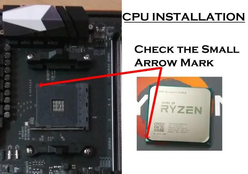 CPU installation