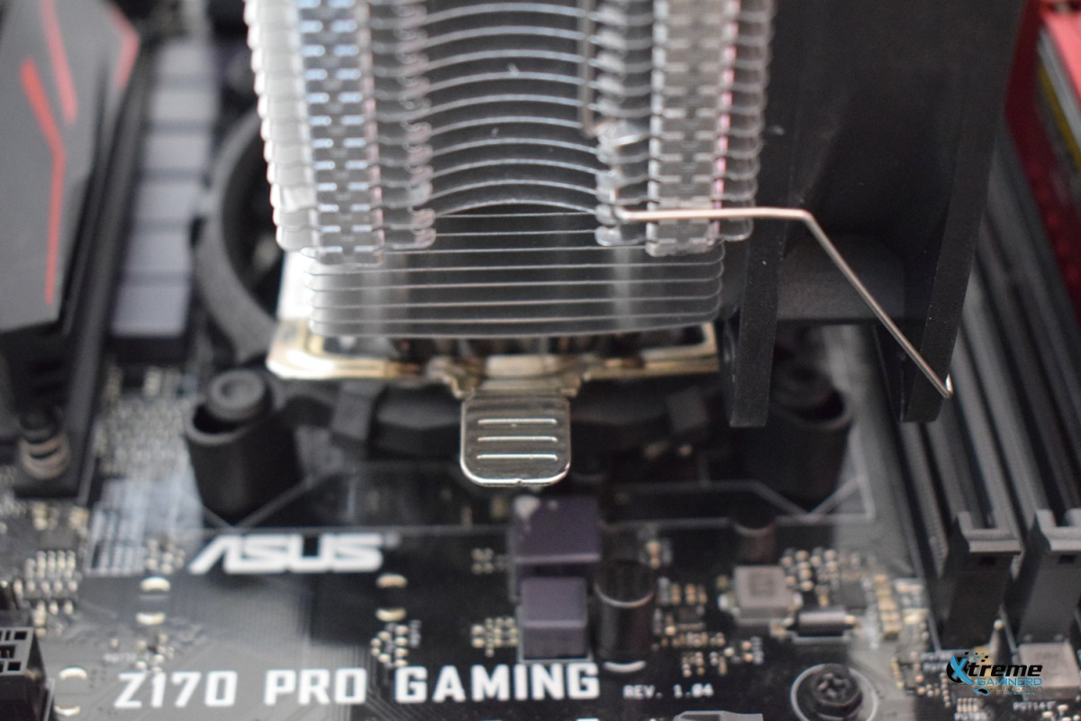 Installing the CPU cooler