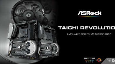 ASRock X470 chipset Taichi motherboards