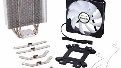 GELID Tornado CPU Cooler