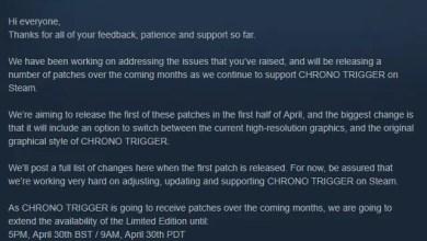Update Chrono Trigger