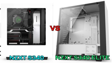 NZXT S340 vs S340VR Elite