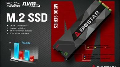 Biostar NVME SSD