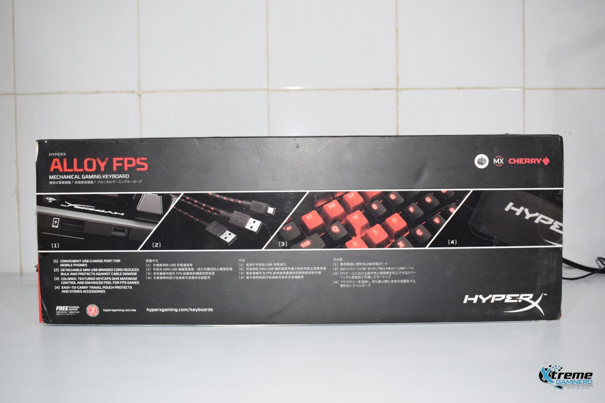 HyperX Alloy FPS mechanical keyboard 2