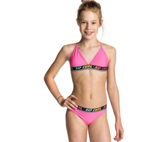 Rip Curl Teen Surf Geo Tri Bikini