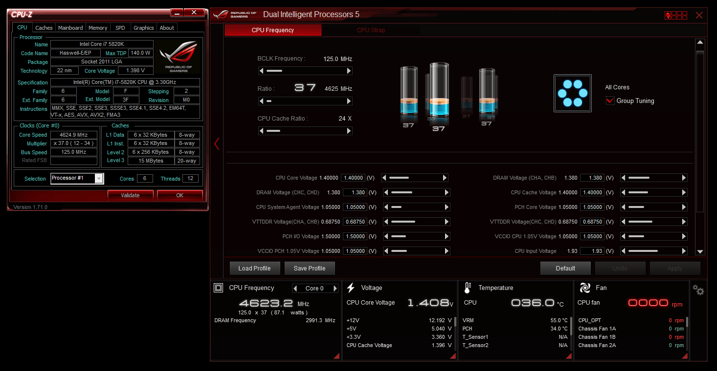 Asus Republic of Gamers Rampage V Extreme X99 Motherboard Review for