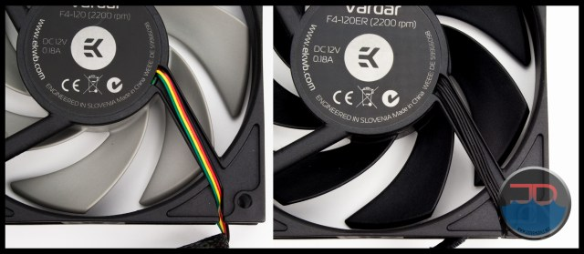 Vardar F4-120 vs F4-120ER wires