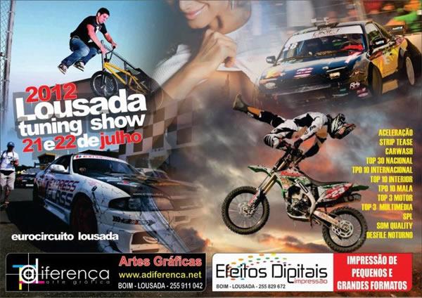 cartaz lousada tuning show 2012