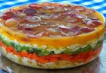 Saladas de Frutas em Camadas