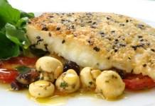 Tilápia com Quinoa e Gergilim