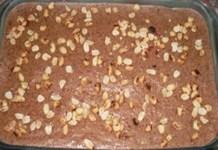 Torta de Amendoim Recheada