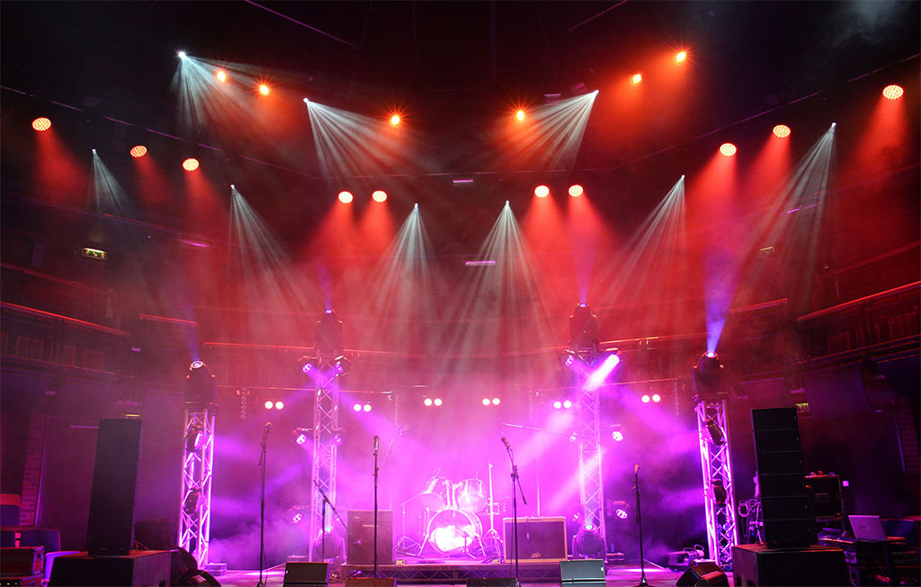stage lighting system the professional