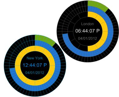 XUS Clock Screenshot