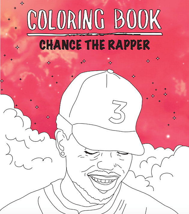 Theinterns Chance The Rappers Coloring Book