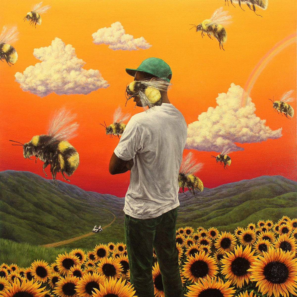 Image result for tyler the creator flower boy album cover