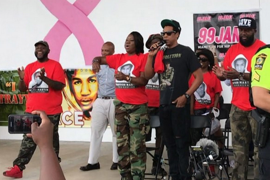 Image result for JAY-Z SHARES MOVING SPEECH AT ANNUAL TRAYVON MARTIN PEACE WALK IN FLORIDA