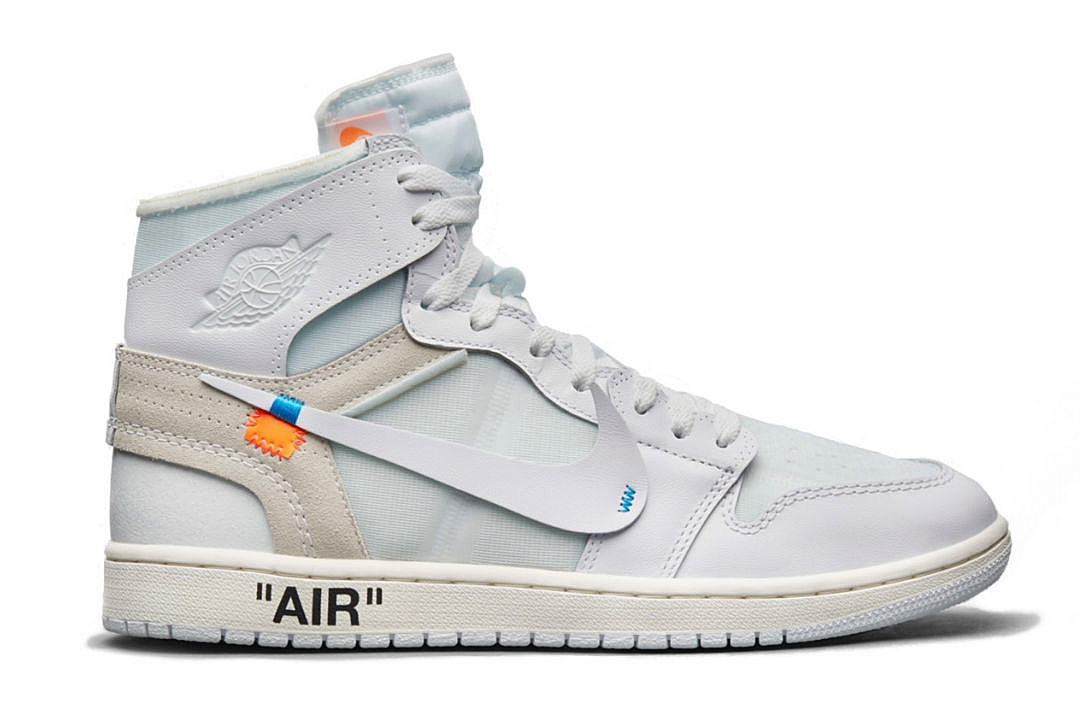 Image result for HERE'S WHERE YOU CAN BUY THE VIRGIL ABLOH AND AIR JORDAN 1 WHITE