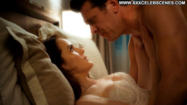 Michelle Dockery Angie Tribeca Bed Beautiful Posing Hot Cleavage