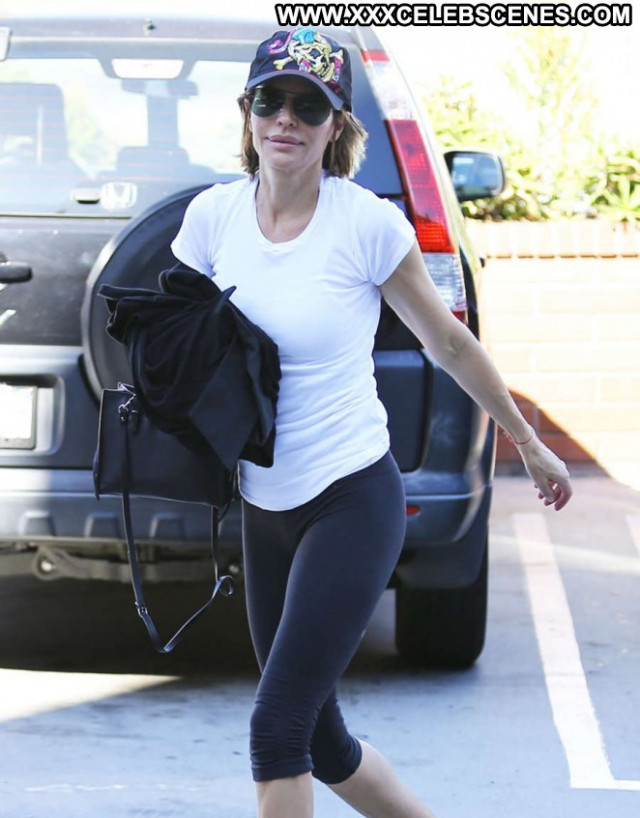 Lisa Rinna Studio City Celebrity Paparazzi Shopping Posing Hot Babe