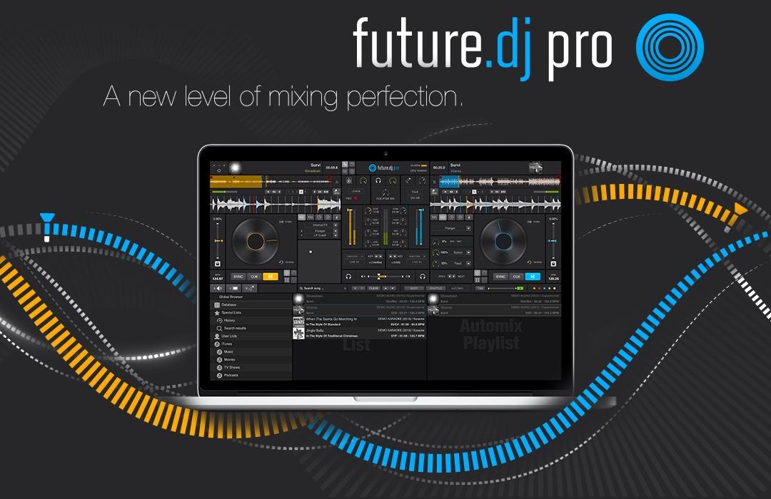 Future DJ Pro for Mac 1.9.1.0 破解版 - 多平台DJ混音软件