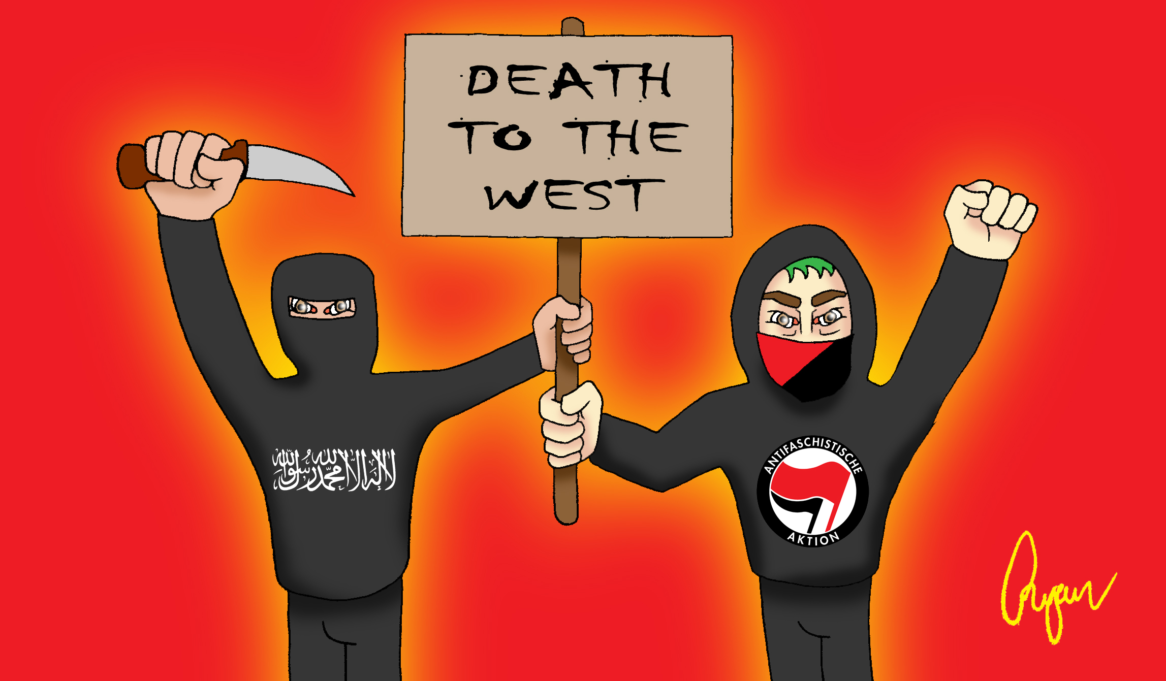 https://i2.wp.com/www.xyz.net.au/wp-content/uploads/2016/06/Cartoon-Antifa-and-ISIS_2.jpg