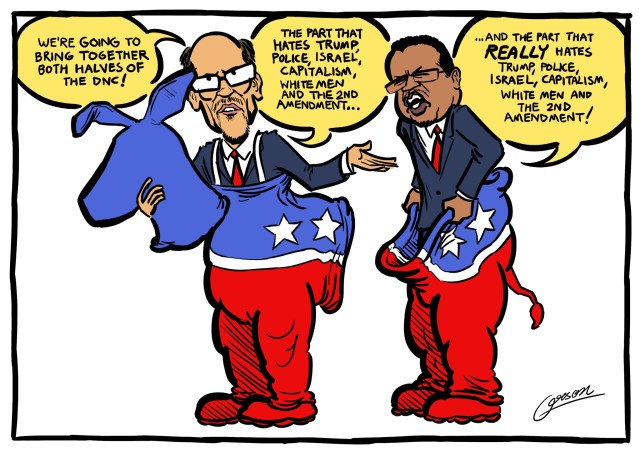 Image result for cartoon of tom perez