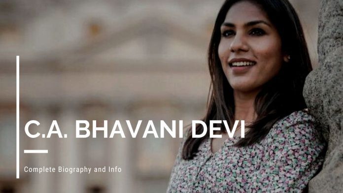 C.A. Bhavani Devi Height, Weight, Age, Biography, Family and Complete Info