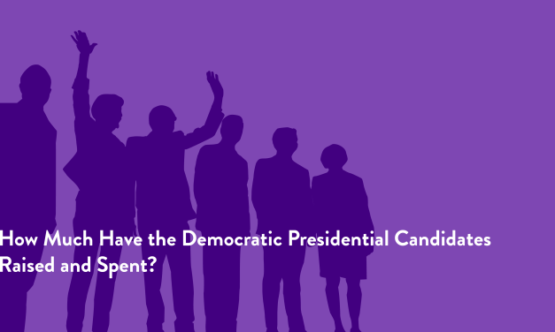 How Much Have the Democratic Presidential Candidates Raised and Spent?