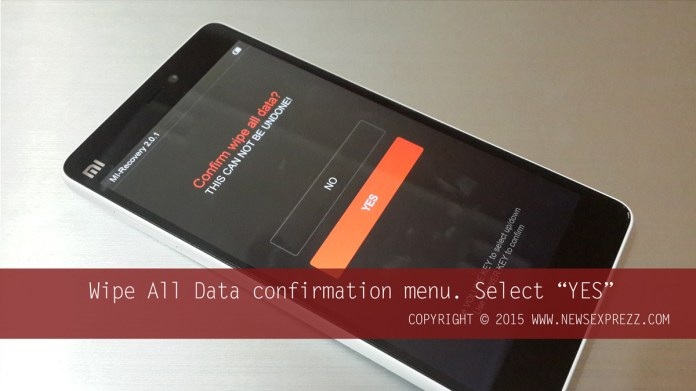 How To Hard Reset Xiaomi Mi 4i 4