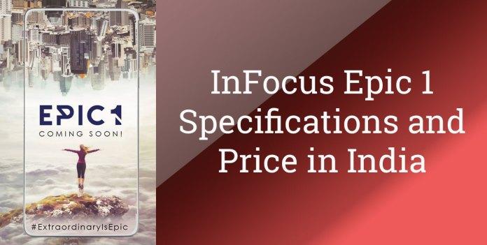 Infocus epic 1 specs