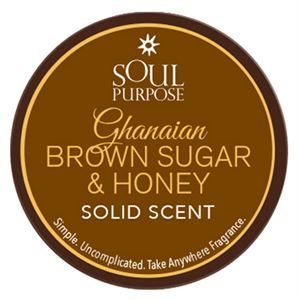 0003512 Ghanaian Brown Sugar Honey Solid Scent 300
