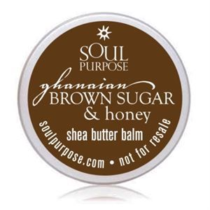 0003911 Ghanaian Brown Sugar Honey Body Balm Sample Pack 20 Pack 300