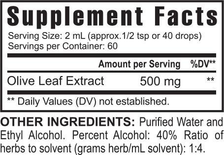 Usgh000019 Gh Usgh000019 Super Olive Health Suppfacts 0715
